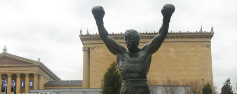 Co-founder of Philadelphia, Rocky Balboa.