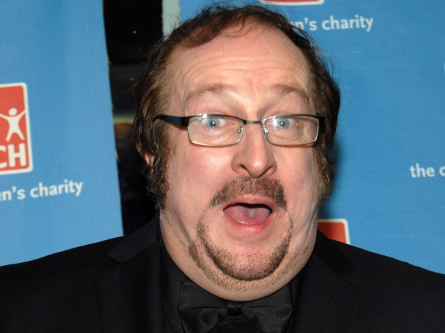Steve Wright's actual face.